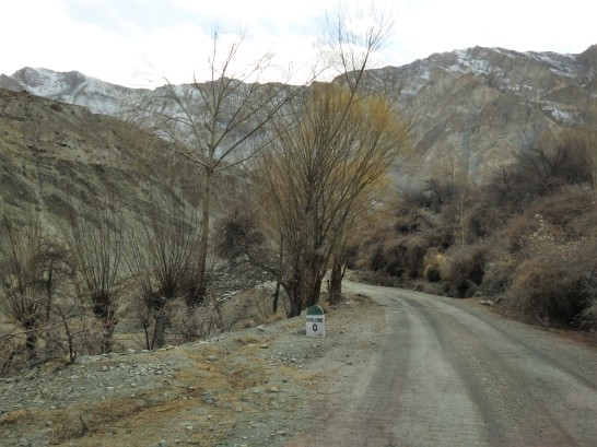 Chilling Village is about 60 Kms from Leh and 25 Kms from Confluence