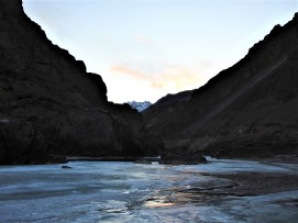 Chadar on Zanskar River