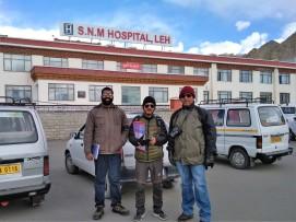 L to R - Rohan, Tsewang & Rajendra884