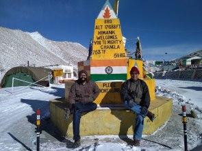 BRO's landmark on Changla Pass