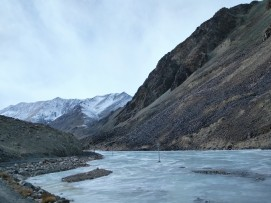 Frozen Changla River