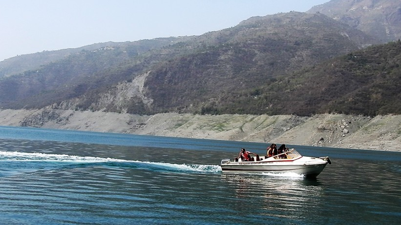 Speed boats were favourite with youngsters