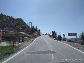 Excellent road from Mussoorie to Chamba