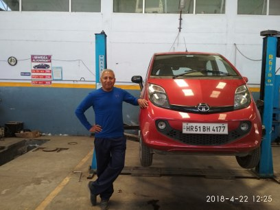 Thanks to Kaka Motors, I was back on track quickly