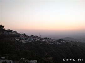 Sunset at Narendra Nagar